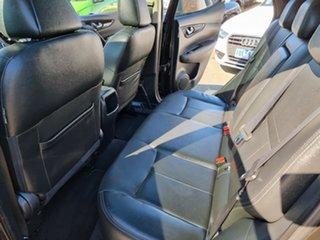 2014 Nissan Qashqai J11 TL Black 1 Speed Constant Variable Wagon