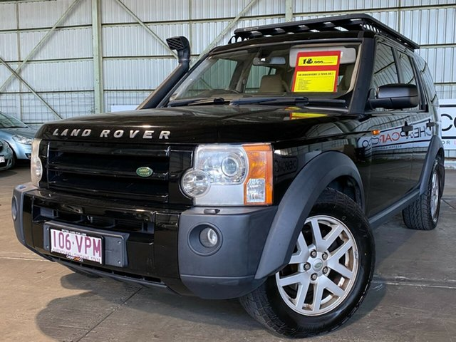 Used Land Rover Discovery 3 Series 3 08MY SE Rocklea, 2008 Land Rover Discovery 3 Series 3 08MY SE Black 6 Speed Sports Automatic Wagon