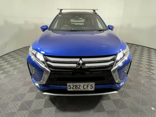 2020 Mitsubishi Eclipse Cross YB MY21 Exceed AWD Blue 8 Speed Constant Variable Wagon.
