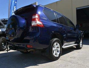 2013 Toyota Landcruiser Prado KDJ150R MY14 GXL (4x4) Blue 5 Speed Sequential Auto Wagon