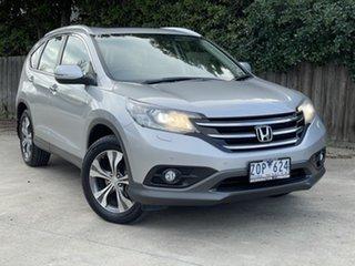 2012 Honda CR-V RM VTi-L 4WD Silver 5 Speed Automatic Wagon.