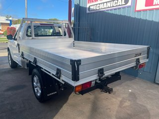 2017 Nissan Navara D23 Series II RX (4x4) White 7 Speed Automatic Cab Chassis.