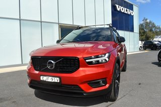 2020 Volvo XC40 XZ MY20 T5 AWD R-Design Red 8 Speed Sports Automatic Wagon.