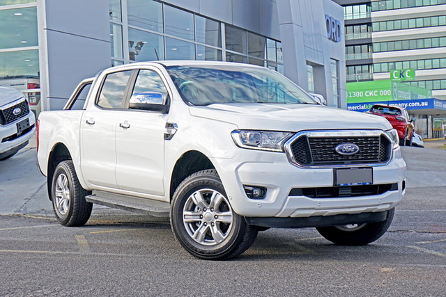 Used Ford Ranger PX MkIII 2021.25MY XLT Springwood, 2021 Ford Ranger PX MkIII 2021.25MY XLT White 6 Speed Sports Automatic Double Cab Pick Up