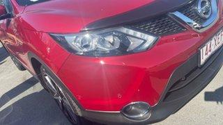 2017 Nissan Qashqai J11 N-Sport Red 1 Speed Constant Variable Wagon.