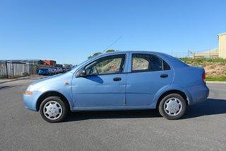 2003 Daewoo Kalos T200 Blue 5 Speed Manual Sedan.