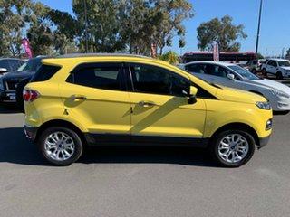 2014 Ford Ecosport BK Titanium Yellow 5 Speed Manual Wagon