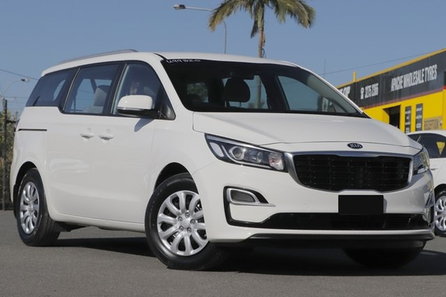 Used Kia Carnival YP MY19 S Rocklea, 2019 Kia Carnival YP MY19 S Clear White 8 Speed Sports Automatic Wagon