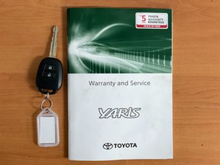 2020 Toyota Yaris NCP130R Ascent White 4 Speed Automatic Hatchback