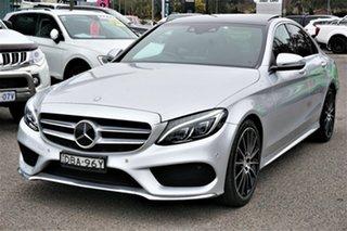 2015 Mercedes-Benz C-Class W205 C250 7G-Tronic + Silver 7 Speed Sports Automatic Sedan