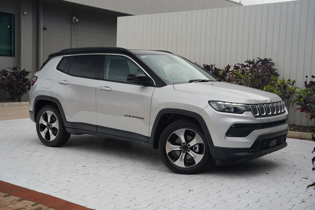 New Jeep Compass M6 MY21 Launch Edition FWD Cairns, 2021 Jeep Compass M6 MY21 Launch Edition FWD Minimal Grey 6 Speed Automatic Wagon
