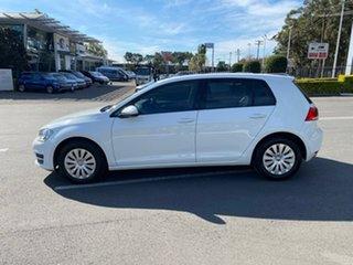 2015 Volkswagen Golf VII MY16 92TSI DSG White 7 Speed Sports Automatic Dual Clutch Hatchback