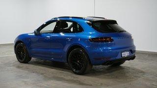 2016 Porsche Macan 95B MY17 GTS PDK AWD Blue 7 Speed Sports Automatic Dual Clutch Wagon.