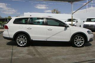 2014 Volkswagen Passat Type 3C MY14.5 Alltrack DSG 4MOTION Candy White 6 Speed.
