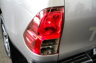 2018 Toyota Hilux GUN126R MY17 SR5 (4x4) Silver Sky 6 Speed Automatic Dual Cab Utility