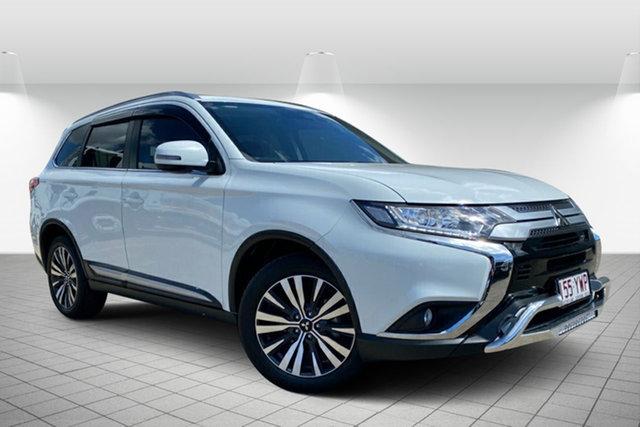 Used Mitsubishi Outlander ZL MY18.5 LS AWD Hervey Bay, 2018 Mitsubishi Outlander ZL MY18.5 LS AWD White 6 Speed Constant Variable Wagon