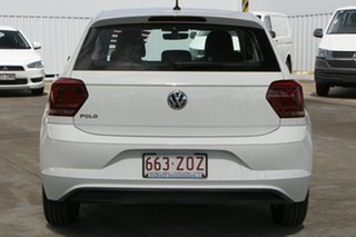 2020 Volkswagen Polo AW MY20 85TSI DSG Comfortline White 7 Speed Sports Automatic Dual Clutch