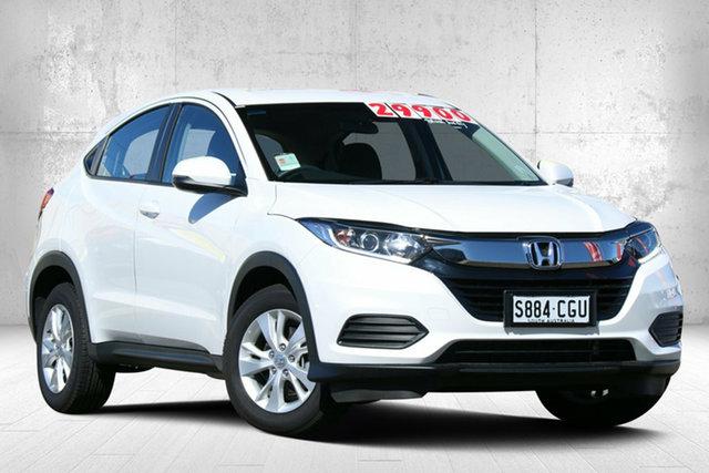 Demo Honda HR-V MY21 VTi Modbury, 2021 Honda HR-V MY21 VTi Platinum White 1 Speed Constant Variable Hatchback