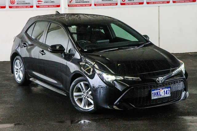 Pre-Owned Toyota Corolla Mzea12R Ascent Sport Myaree, 2018 Toyota Corolla Mzea12R Ascent Sport Eclipse Black Continuous Variable Hatchback