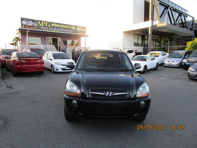 Used Hyundai Tucson 08 Upgrade City Elite Coorparoo, 2009 Hyundai Tucson 08 Upgrade City Elite Black 4 Speed Automatic Wagon