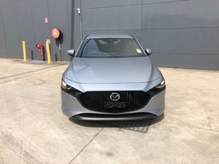 2021 Mazda 3 BP2H7A G20 SKYACTIV-Drive Touring Sonic Silver 6 Speed Sports Automatic Hatchback