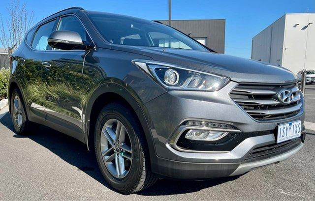 Used Hyundai Santa Fe DM3 MY17 Active Essendon Fields, 2017 Hyundai Santa Fe DM3 MY17 Active Grey 6 Speed Manual Wagon