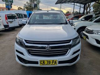 2016 Holden Colorado RG MY16 LS (4x2) White 6 Speed Automatic Cab Chassis