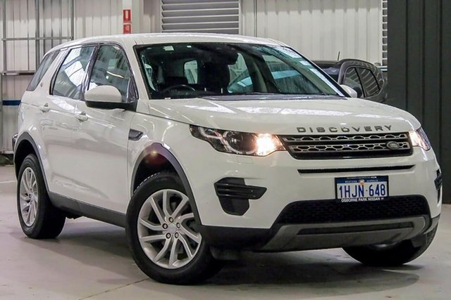 Used Land Rover Discovery Sport L550 18MY HSE Osborne Park, 2018 Land Rover Discovery Sport L550 18MY HSE White 9 Speed Sports Automatic Wagon
