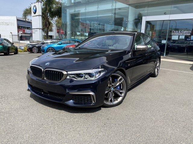 Used BMW M550i G30 xDrive Brookvale, 2020 BMW M550i G30 xDrive Carbon Black Metallic 8 Speed Auto Steptronic Sport Sedan