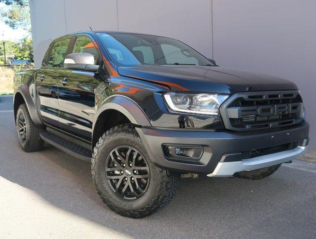 Used Ford Ranger PX MkIII 2019.00MY Raptor Reynella, 2018 Ford Ranger PX MkIII 2019.00MY Raptor Black 10 Speed Sports Automatic Utility