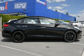 2016 Hyundai Sonata LF MY16 Premium Black 6 Speed Sports Automatic Sedan.