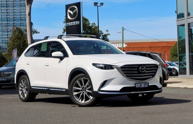 Used Mazda CX-9 TC GT SKYACTIV-Drive South Melbourne, 2017 Mazda CX-9 TC GT SKYACTIV-Drive Snowflake White Pearl 6 Speed Sports Automatic Wagon