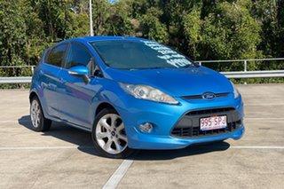 2010 Ford Fiesta WS Zetec Blue 4 Speed Automatic Hatchback.