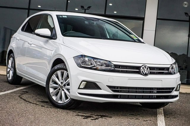 Demo Volkswagen Polo AW MY21 85TSI DSG Style Berwick, 2021 Volkswagen Polo AW MY21 85TSI DSG Style White 7 Speed Sports Automatic Dual Clutch Hatchback