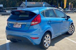 2010 Ford Fiesta WS Zetec Blue 4 Speed Automatic Hatchback