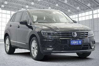2019 Volkswagen Tiguan 5N MY19.5 132TSI DSG 4MOTION Comfortline Black 7 Speed.