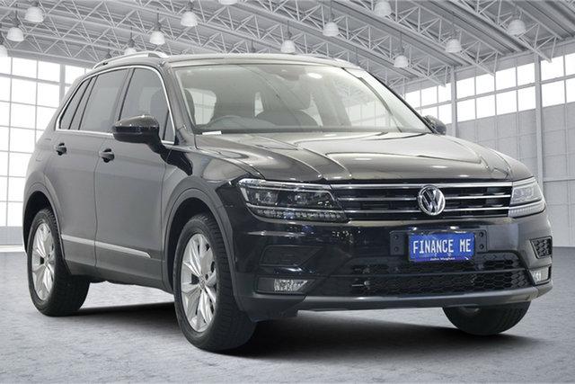 Used Volkswagen Tiguan 5N MY19.5 132TSI DSG 4MOTION Comfortline Victoria Park, 2019 Volkswagen Tiguan 5N MY19.5 132TSI DSG 4MOTION Comfortline Black 7 Speed