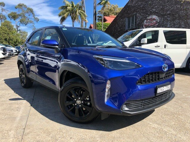 Pre-Owned Toyota Yaris Cross MXPJ15R GX AWD Mosman, 2020 Toyota Yaris Cross MXPJ15R GX AWD Lunar Blue 1 Speed Constant Variable Hatchback