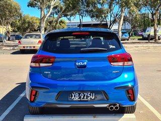 2021 Kia Rio YB MY21 GT-Line DCT Sporty Blue 7 Speed Sports Automatic Dual Clutch Hatchback