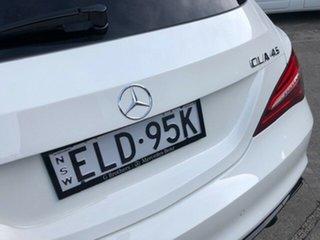 2017 Mercedes-Benz CLA-Class X117 807MY CLA45 AMG Shooting Brake SPEEDSHIFT DCT 4MATIC 7 Speed