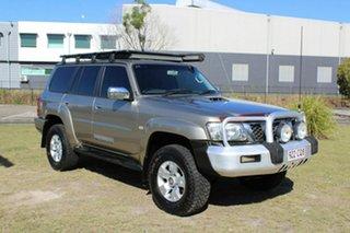 2008 Nissan Patrol GU 6 MY08 ST Gold 4 Speed Automatic Wagon
