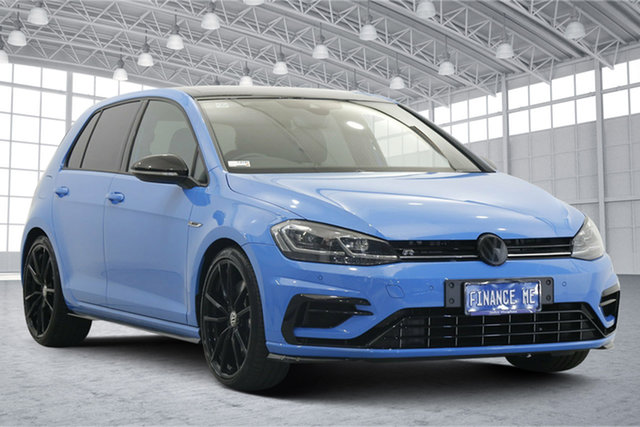 Used Volkswagen Golf 7.5 MY20 R DSG 4MOTION Final Edition Victoria Park, 2020 Volkswagen Golf 7.5 MY20 R DSG 4MOTION Final Edition Blue 7 Speed Sports Automatic Dual Clutch
