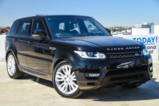 Used Land Rover Range Rover Sport L494 17MY SE Osborne Park, 2016 Land Rover Range Rover Sport L494 17MY SE Black 8 Speed Sports Automatic Wagon