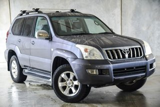 2008 Toyota Landcruiser Prado GRJ120R GXL Grey 5 Speed Automatic Wagon.