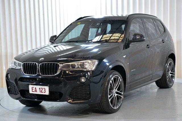 Used BMW X3 F25 LCI MY0414 xDrive20d Steptronic Hendra, 2015 BMW X3 F25 LCI MY0414 xDrive20d Steptronic Black 8 Speed Automatic Wagon