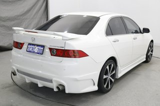 2007 Honda Accord Euro CL MY2007 Limited Edition White 5 Speed Automatic Sedan
