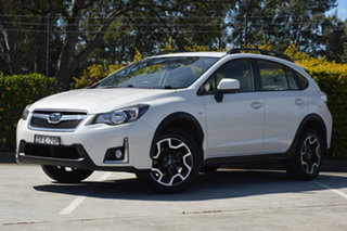 2016 Subaru XV G4X MY16 2.0i Lineartronic AWD White 6 Speed Constant Variable Wagon.