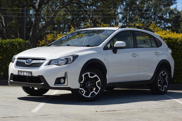Used Subaru XV G4X MY16 2.0i Lineartronic AWD Maitland, 2016 Subaru XV G4X MY16 2.0i Lineartronic AWD White 6 Speed Constant Variable Wagon