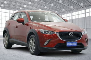 2018 Mazda CX-3 DK2W7A Maxx SKYACTIV-Drive FWD Sport Passion Red 6 Speed Sports Automatic Wagon.
