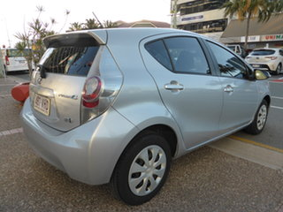 2014 Toyota Prius c NHP10R Hybrid Silver Continuous Variable Hatchback